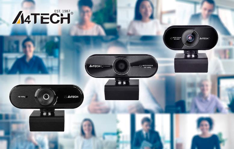 Новые Web-камеры A4Tech