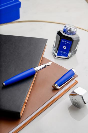 Caran dAche + Klein Blue