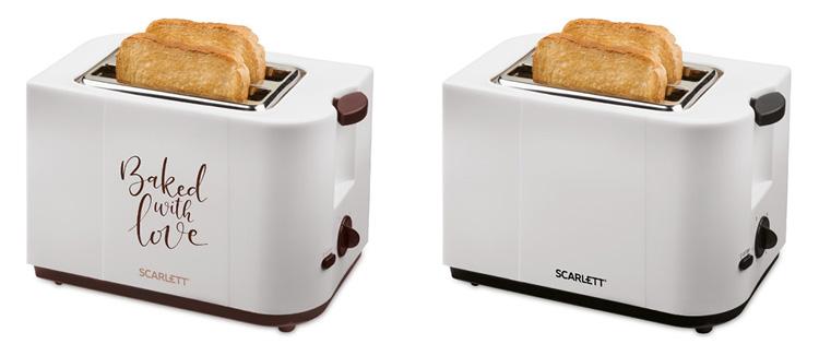 Тостеры Scarlett SC-TM11008 и SC-TM11018