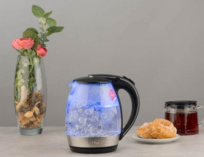 Стильно и комфортно: новые модели электрических чайников Scarlett
