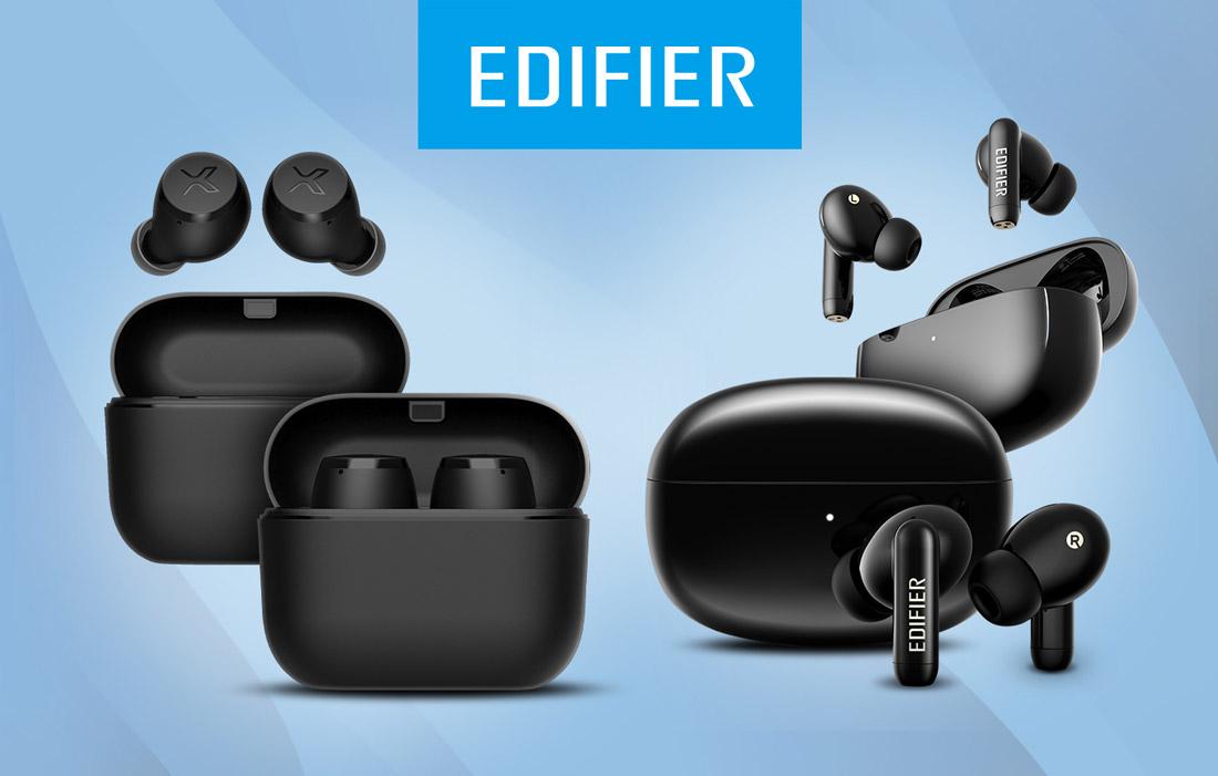 Edifier X3 и Edifier TWS330 NB